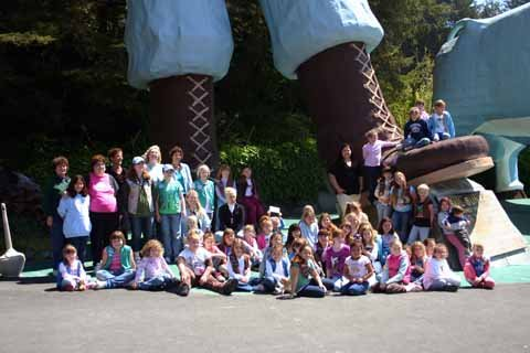 Girl Scouts, Trees of Mystery, Klamath, California